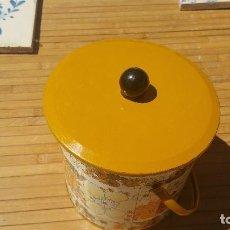 Vintage: BOTE DE GALLETAS CON TAPA SERIGAFIADO . Lote 89347160
