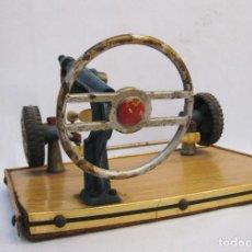 Vintage: APARATO MAQUINA AUTOESCUELA MAQUETA DIRECCION COCHE VEHICULO IDEAL DECORACION AUTOESCUELAS. Lote 171517854