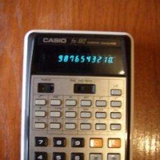 Vintage: CALCULADORA CASIO FX102 FX-102 FUNCIONANDO CON SU FUNDA. Lote 89662136