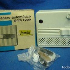 Vintage: -TENDEDERO AUTOMÁTICO PARA ROPA MARCA YNAPLAS, PAMPLONA - AÑOS 80 - NUEVO. Lote 89785468