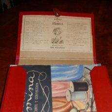 Vintage: CCC CURSO FÉMINA DE CORTE Y CONFECCION, C.1958.COMPLETO 24 LECCIONES + SUPLEMENTO,PERFECTO. Lote 89851648
