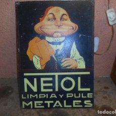 Vintage: CHAPA DEL MUÑECO DEL NETOS MIDE 30 X POR 42. Lote 94465294