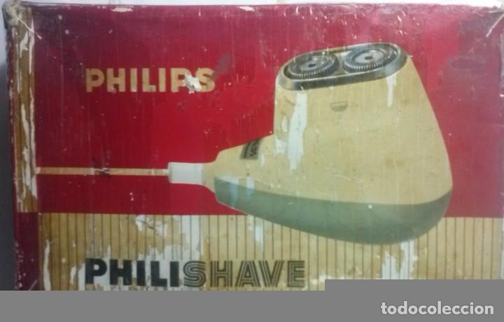 MAQUINA DE AFEITAR PHILISHAVE AÑOS 60-70 (Vintage - Varios)