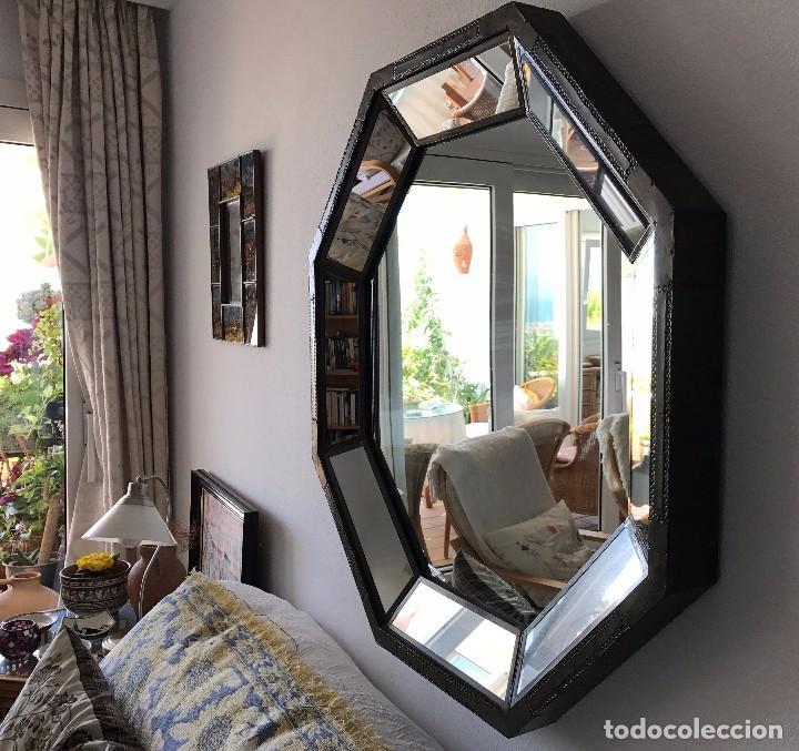 Vintage: Espejo octogonal comprado en Marbella hace 30 años del diseñador R. Dubarry - Foto 3 - 90727895