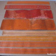 Vintage: 8 ANTIGUAS PLANTILLAS DE CARTÓN DE DIVERSAS CENEFAS PARA ENCAJE DE BOLILLOS.. Lote 90756375