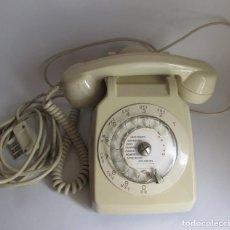 Vintage: TELEFONO ANTIGUO CON AURICULAR AUXILIAR - RARO. Lote 115756607