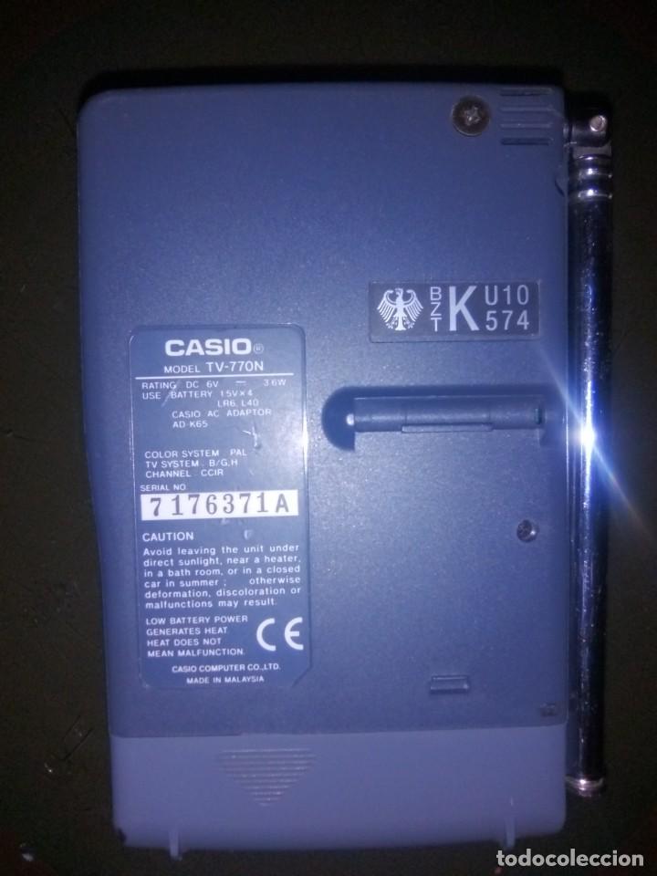 Vintage: mni tv casio modelo tv-770 - Foto 3 - 91660345