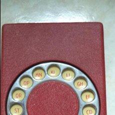 Vintage: AGENDA TELEFONICA VINTAGE. Lote 91715130