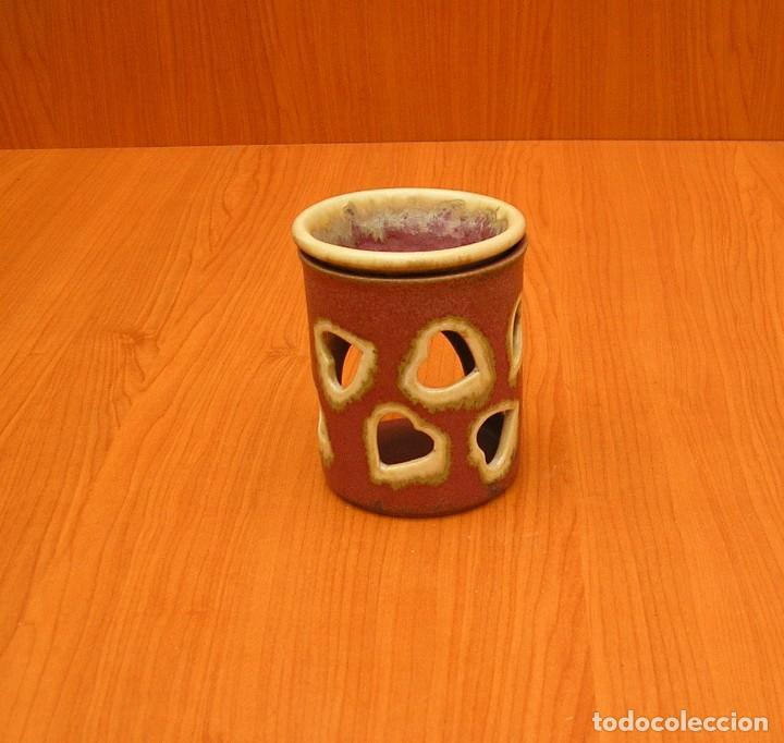 Vintage: Hornillo quemador de esencias en ceramica. - Foto 2 - 92157360