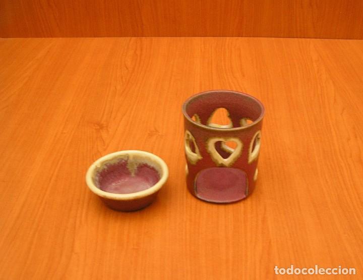 Vintage: Hornillo quemador de esencias en ceramica. - Foto 3 - 92157360