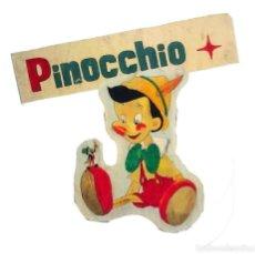Vintage: CARTEL DE PINOCHO, PINTADO AL ÓLEO SOBRE UNA TABLA DE PINO. AÑOS 60.. Lote 60983639