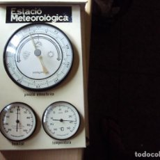 Vintage: ESTACION METEROLOGICA. Lote 93907345