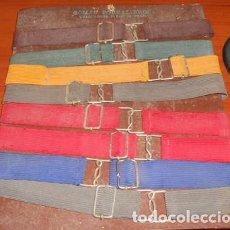 Vintage: BLÍSTER CON 8 GOMAS PORTALIBROS GRADUABLES. Lote 93913515