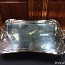 Vintage: BANDEJA PLATEADO CON ASAS LABRADAS. Lote 94001337