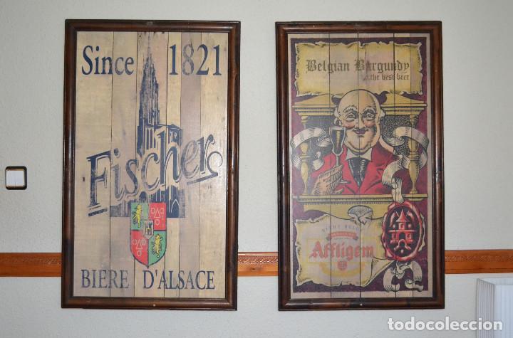 cuadros en madera enmarcados - Comprar en todocoleccion - 94249080