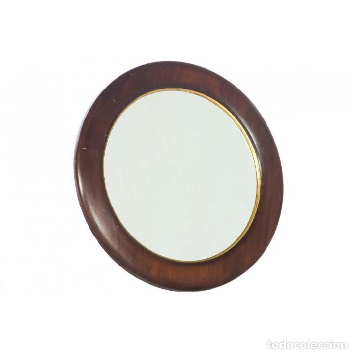 Espejo redondo vintage comprar en todocoleccion 94670839 for Espejo redondo vintage