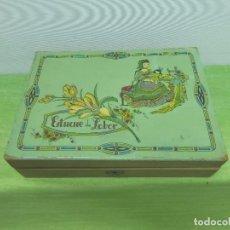 Vintage: ANTIGUO ESTUCHE DE LABOR MADERA FRUTAL-CAJA COSTURERO 17,5 X 24,5 CM-ORIGINAL AÑOS 50-VINTAGE-. Lote 94671311