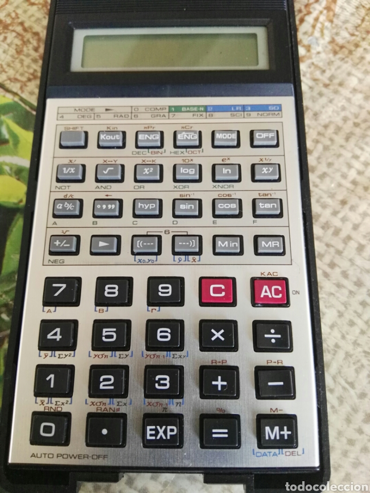 Vintage: Calculadora científica casio fx-100v Super fx - Foto 2 - 134263403