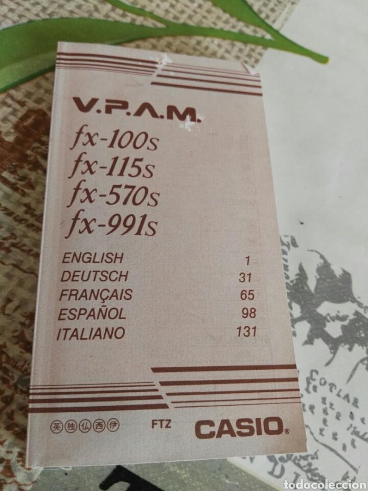 Vintage: Calculadora científica casio fx-100v Super fx - Foto 4 - 134263403