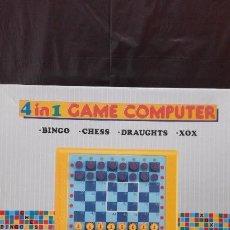 Vintage: JUEGO GAME-COMPUTER ¡ 4 EN 1 ! ¡ NUEVO !. Lote 94906787