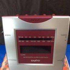 Vintage: RADIO RELOJ SANYO RM 50 ¡¡¡ VINTAGE !!! ¡¡NUEVO!!. Lote 95313347