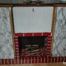 Vintage: MUEBLE BAR CHIMENEA - DIFICILISIMO!!!. Lote 95833979