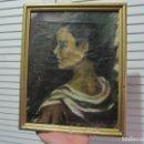 Vintage: ANTIGUO CUADRO FIRMA RECIO. Lote 95840083