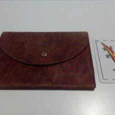 Vintage: CARTERA DE PIEL AÑOS 50.. Lote 95873490