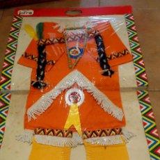 Vintage: DISFRAZ ANTIGUO INDIA AÑOS 60 70 JUGUETES JOFRE VINTAGE NIÑA. Lote 95879219
