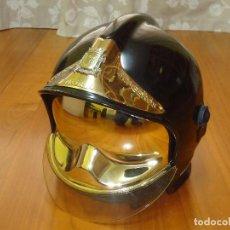 Vintage: CASCO BOMBERO GALLET F1, BOMBEROS MADRID, MUY BUEN ESTADO. ENVIO GRATIS.. Lote 95883439
