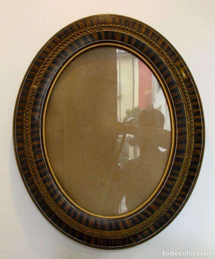 marco ovalado antiguo para foto vintage años 40 - Comprar en ...
