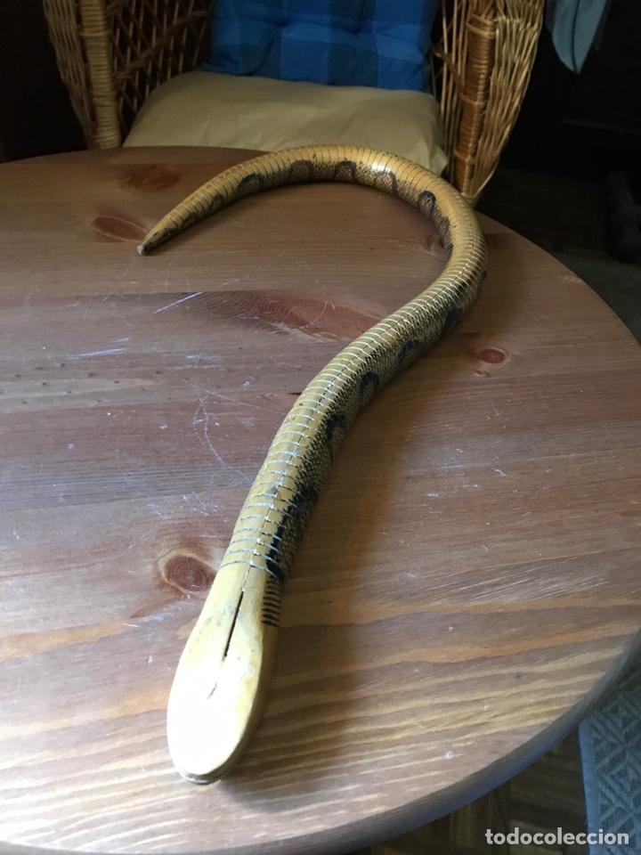 Vintage: Serpiente de madera - Foto 6 - 96957620