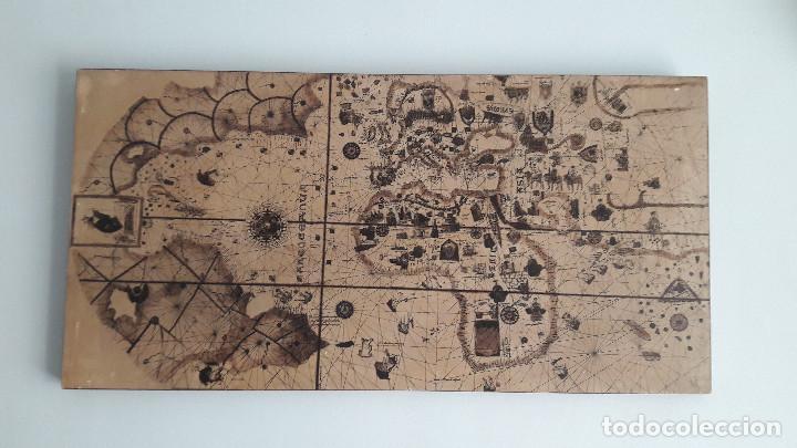 cuadro mapamundi medieval antiguo  Comprar en todocoleccion
