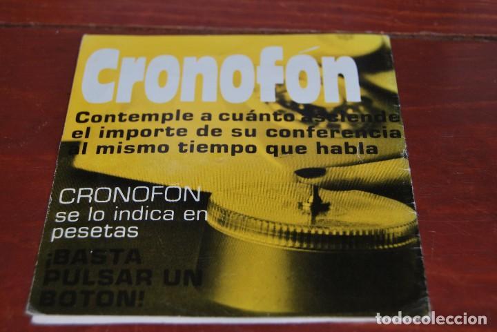 Vintage: CRONOFON - COMPLEMENTO TELEFÓNICO - CONTADOR DE TIEMPOS E IMPORTES DE TELÉFONO - EN SU CAJA ORIGINAL - Foto 4 - 97639739