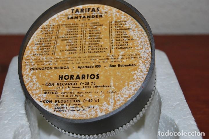 Vintage: CRONOFON - COMPLEMENTO TELEFÓNICO - CONTADOR DE TIEMPOS E IMPORTES DE TELÉFONO - EN SU CAJA ORIGINAL - Foto 11 - 97639739
