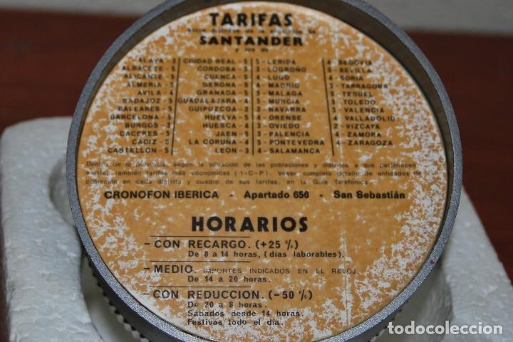 Vintage: CRONOFON - COMPLEMENTO TELEFÓNICO - CONTADOR DE TIEMPOS E IMPORTES DE TELÉFONO - EN SU CAJA ORIGINAL - Foto 12 - 97639739