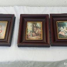 Vintage: 3 CUADROS LAMINAS. Lote 97933211