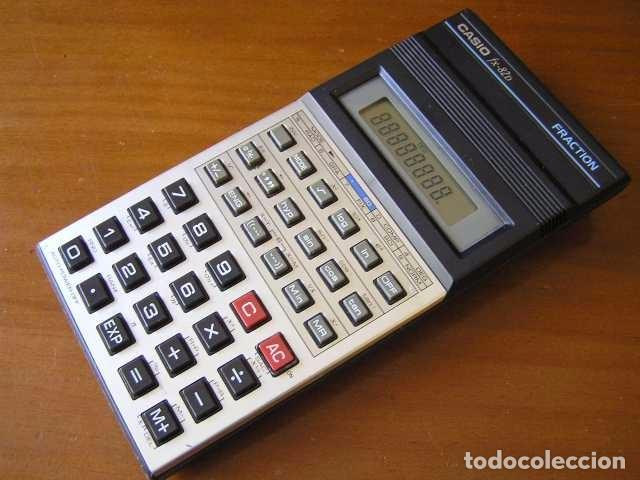 CALCULADORA CASIO FX-82D FRACTION FX82D - CALCULATOR - (Vintage - Varios)