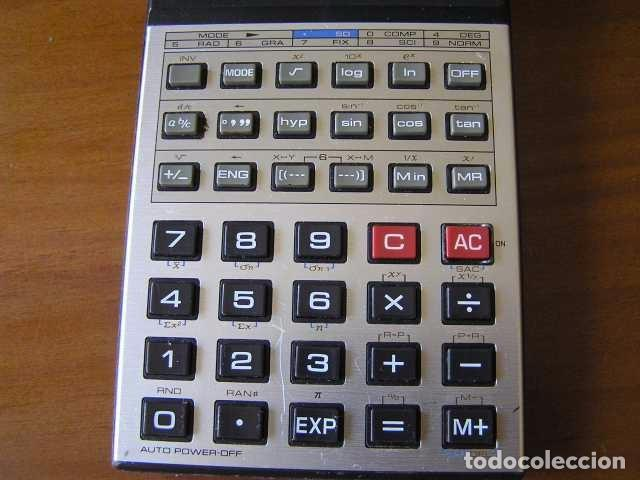 Vintage: CALCULADORA CASIO fx-82D FRACTION fx82D - CALCULATOR - - Foto 4 - 98355099