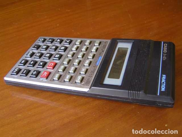 Vintage: CALCULADORA CASIO fx-82D FRACTION fx82D - CALCULATOR - - Foto 6 - 98355099