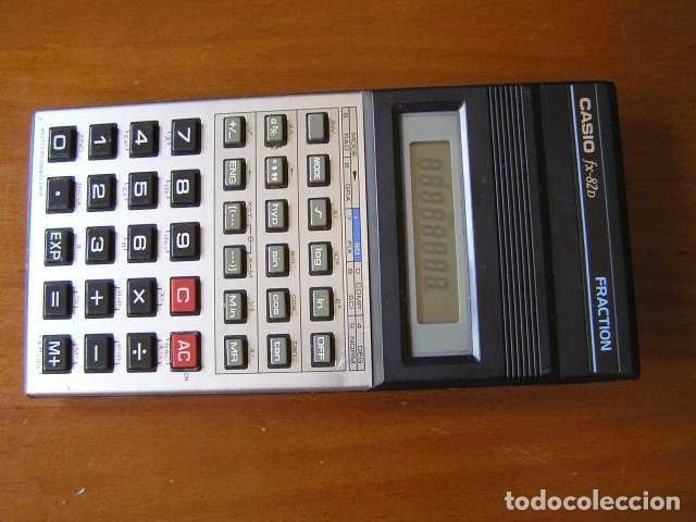Vintage: CALCULADORA CASIO fx-82D FRACTION fx82D - CALCULATOR - - Foto 7 - 98355099