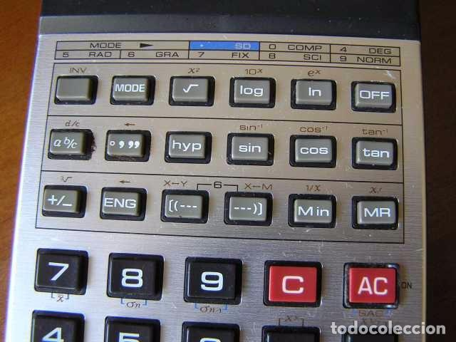Vintage: CALCULADORA CASIO fx-82D FRACTION fx82D - CALCULATOR - - Foto 8 - 98355099