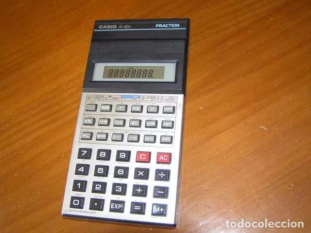 Vintage: CALCULADORA CASIO fx-82D FRACTION fx82D - CALCULATOR - - Foto 11 - 98355099