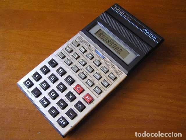 Vintage: CALCULADORA CASIO fx-82D FRACTION fx82D - CALCULATOR - - Foto 13 - 98355099