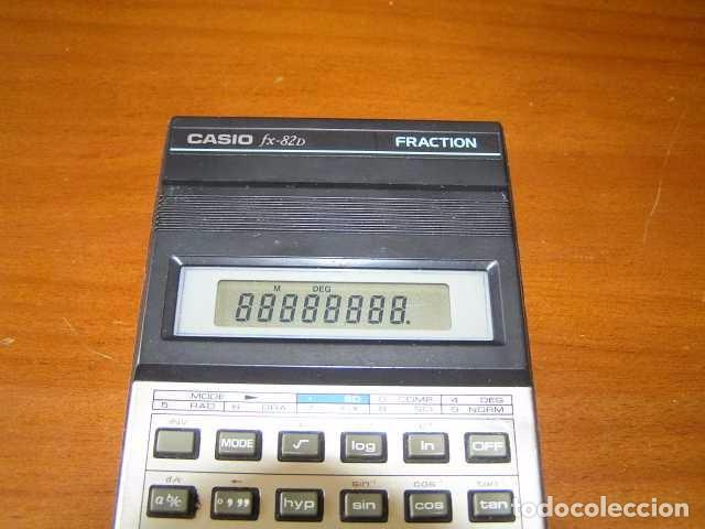 Vintage: CALCULADORA CASIO fx-82D FRACTION fx82D - CALCULATOR - - Foto 25 - 98355099
