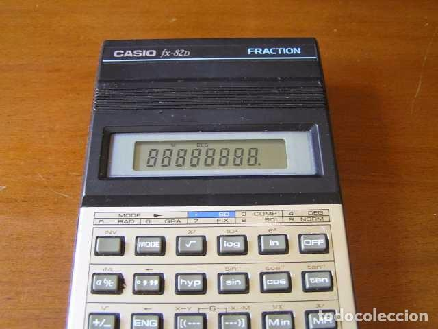 Vintage: CALCULADORA CASIO fx-82D FRACTION fx82D - CALCULATOR - - Foto 26 - 98355099
