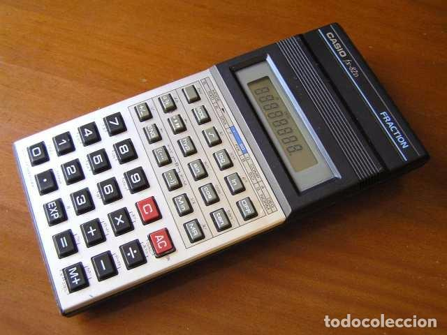 Vintage: CALCULADORA CASIO fx-82D FRACTION fx82D - CALCULATOR - - Foto 27 - 98355099