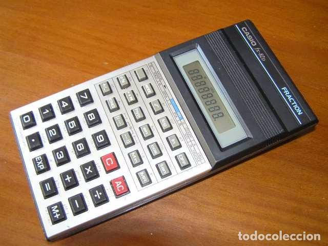 Vintage: CALCULADORA CASIO fx-82D FRACTION fx82D - CALCULATOR - - Foto 28 - 98355099