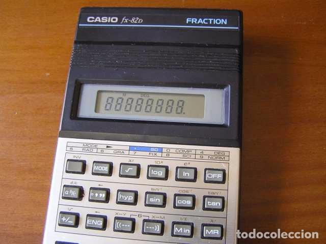 Vintage: CALCULADORA CASIO fx-82D FRACTION fx82D - CALCULATOR - - Foto 29 - 98355099