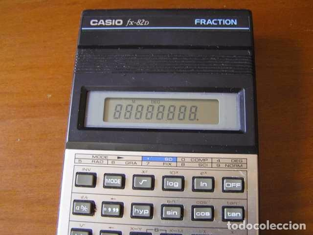 Vintage: CALCULADORA CASIO fx-82D FRACTION fx82D - CALCULATOR - - Foto 32 - 98355099